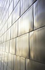 Titanium metal wall