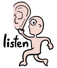 Ear listen