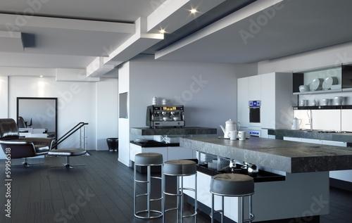 Large Kitchen / Living Room
