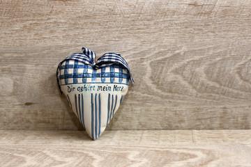 Herz im Landhausstil