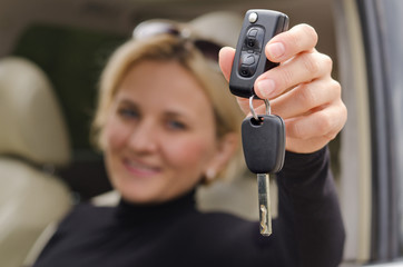 Automatic car key