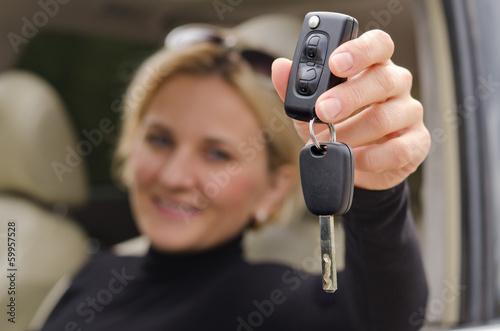 Automatic car key