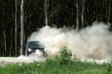 car off road