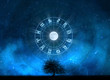 Zodiac Signs Horoscope with the tree of life and universe - 59959378