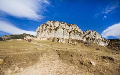 Peguera, old abandoned village