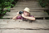 photographer in the jungle