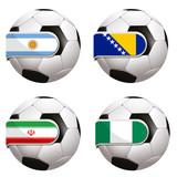 World Cup football group F