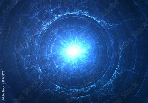 Abstract science background - electromagnetic field concept