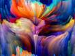 canvas print picture - Color Flower