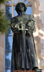 statue de Zwingli à zurich