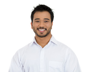Portrait of successful smiling young businessman
