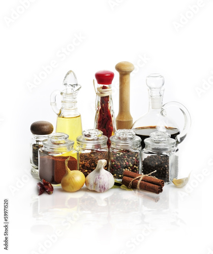 Spices,Cooking Oil And Vinegar