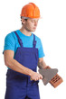 Builder with tools