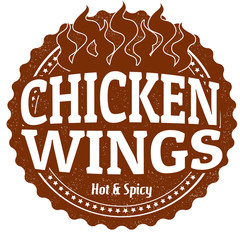 Chicken Wings stamp