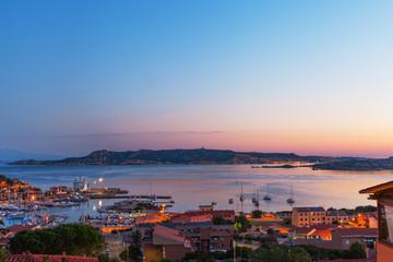 Palau city, Sardinia.