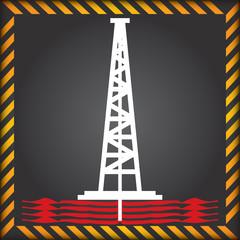 Shale gas label - anti fracking label