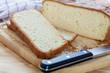 Süßes selbstgebackenes Weißbrot