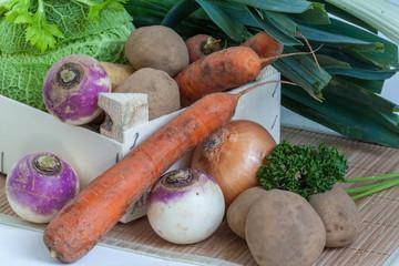 Légumes pour pot au feu