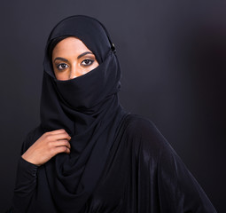 mysterious muslim woman