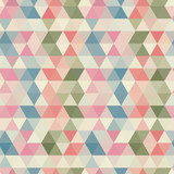 Seamless triangle pattern. Vector background. Geometric abstract
