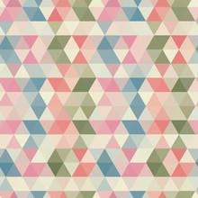Bezszwowe wzór trójkąta. Wektor tła. Geometryczne abstrakcyjne