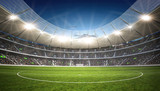 Fototapety Stadion Mittellinie