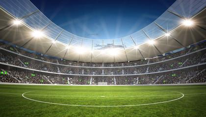 Fototapeta stadion piłkarski z linii