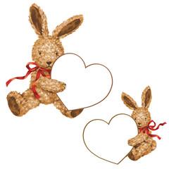 ウサギのバレンタイン