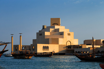 Museum of Islamic Art in Doha, Qatar