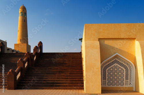 The Grand Mosque of Doha, Qatar
