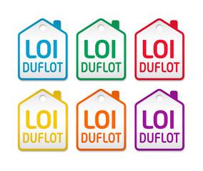 Loi Duflot étiquettes