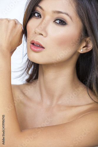 Beautiful Nude Asian Chinese Woman Girl