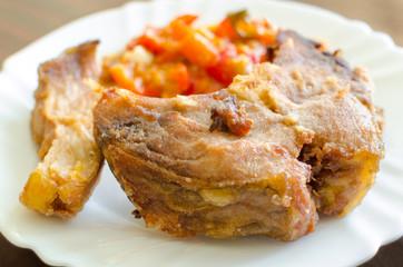 carp fried fish