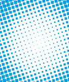 Blue halftone dots backgound.