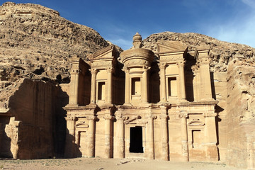 ヨルダン世界遺産、ペトラの修道院跡