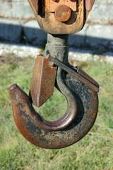 Crane and hook