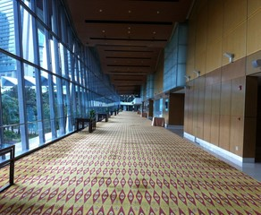 Walking Path At Kuala Lumpur Convention Center