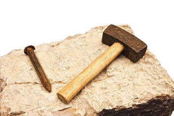 mallet and chisels