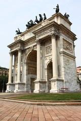 Arco della pace di Milano