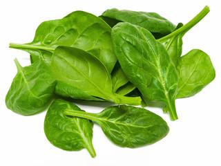 Frischer Spinat