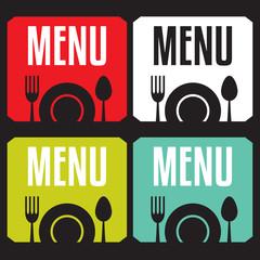 Restaurant Menu Card Design template
