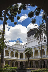 quito,cortile coloniale