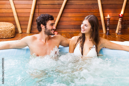 Couple relaxing in a beauty farm - 59993593