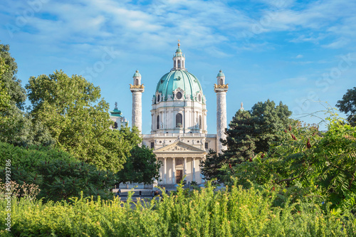 St. Charles's Church in Vienna, Austria