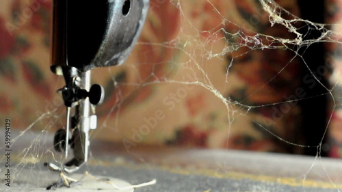 Web On Sewing Machine