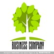 nature abstract business logo emblem vector
