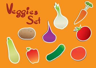 Veggies Set