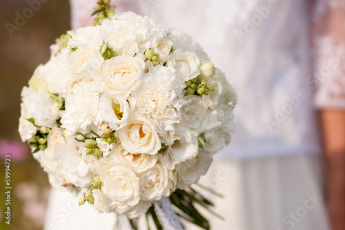 canvas print picture Bouquet de mariée