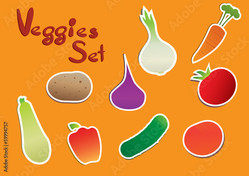 Veggies Set