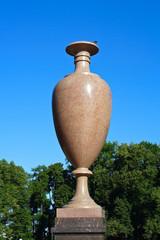 Saint-Petersburg, porphyry vase